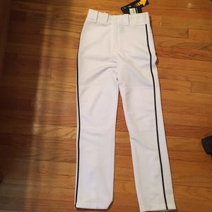 Easton YL large baseball pants adjustable inseam